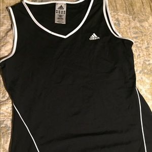 Adidas fitted tank size M
